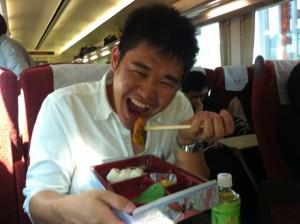 ザワワの豪快豪傑の駅弁当1本食い!!